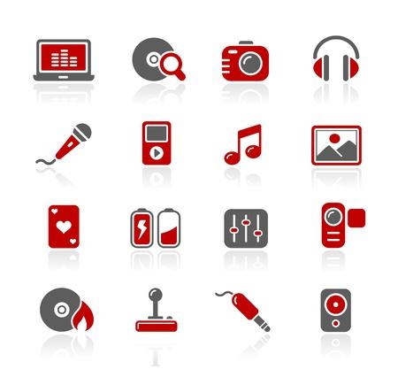 Multimedia -- Redico Series Vector