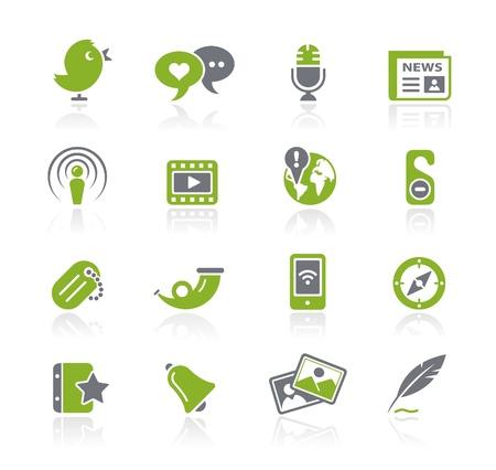 Social Media -- Natura Series  Vector