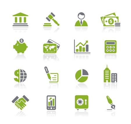 バンキング: ビジネス ・ ファイナンス - ナチュラ シリーズ  イラスト・ベクター素材