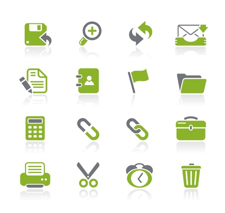 Web Interface Icons -- Natura Series