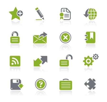 Web Icons -- Natura Series  Illustration