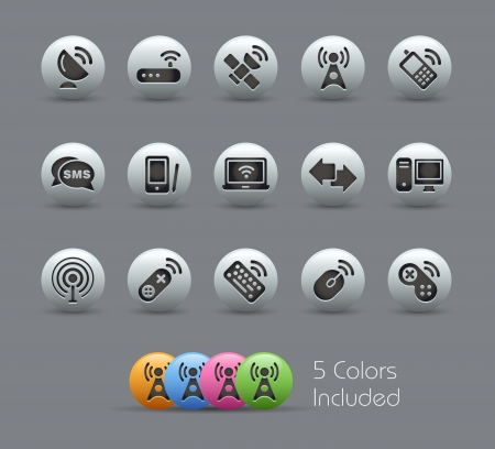 Wireless e delle comunicazioni - Serie Pearly
