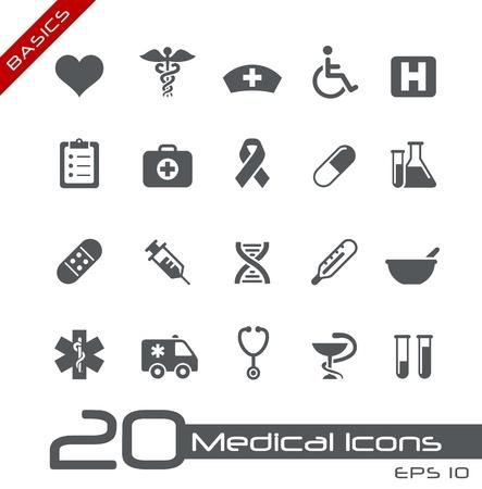 Medical Icons -- Basics Series Stock Vector - 15137672