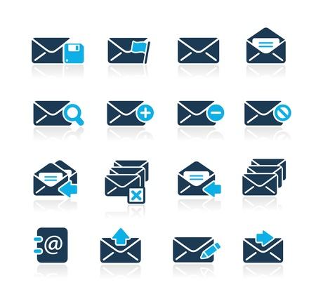 E-mail Icons -- Azure Series Ilustração
