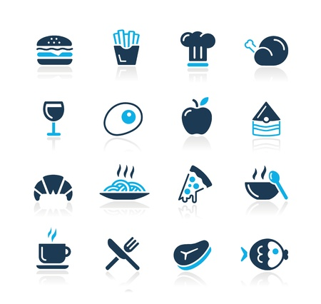 Food Icons - 1 -- Azure Series Vector