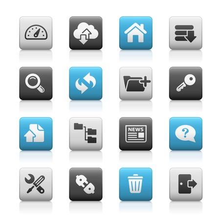 Hosting Icons -- Matte Series