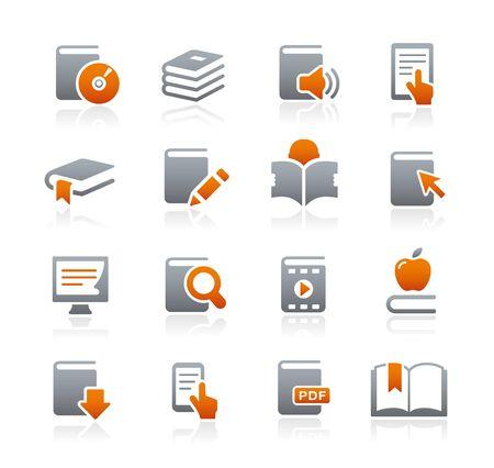 Book Icons -- Graphite Series