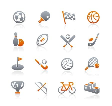Sports Icons -- Graphite Series Ilustração