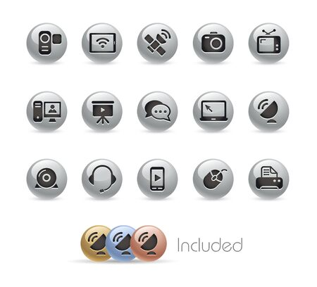 Communication Icons Stock Vector - 18847649
