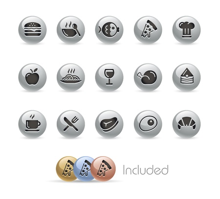 continental food: Food Icons