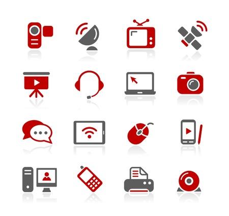 Iconos de comunicación - serie de Redico