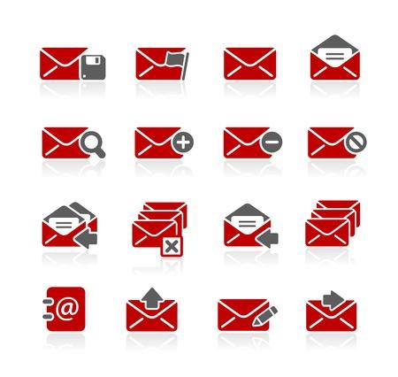 E-mail Icons -- Redico Series