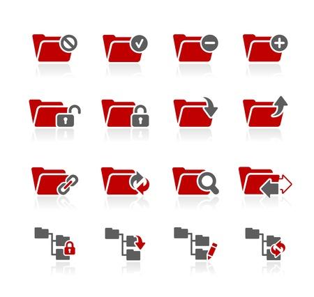 Folder Icons - 1 -- Redico Series Stock Vector - 20353628