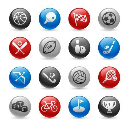 Sport Icons -- Gel Pro Series Stock Vector - 20749260