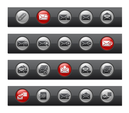 select all: E-mail Icons -- Button Bar Series