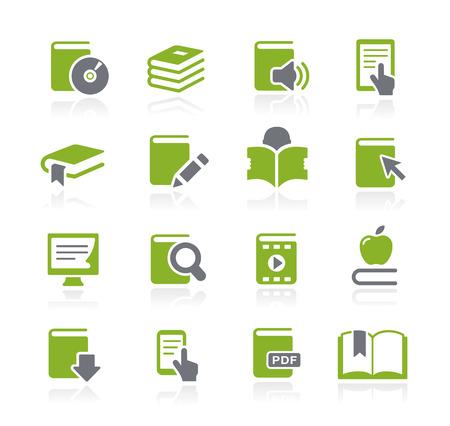 Book Icons - Naturaleza Serie