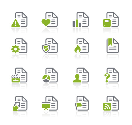 mov: Documents Icons - Nature Series