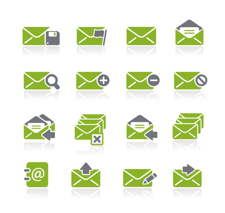 book mark: E-mail Icons -- Nature Series