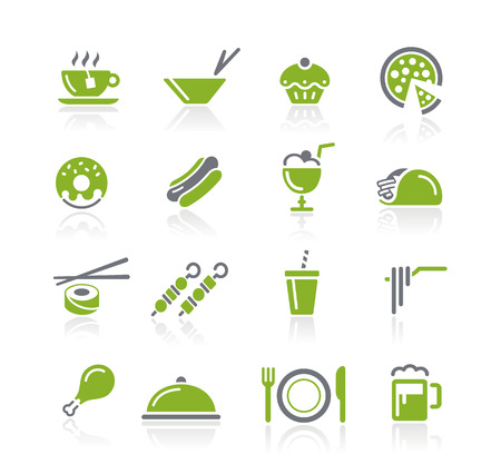 Food Icons - Nature Series Vector