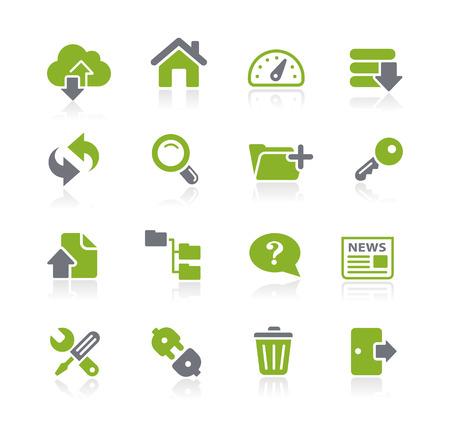 icono: Hosting Iconos - Natura Series
