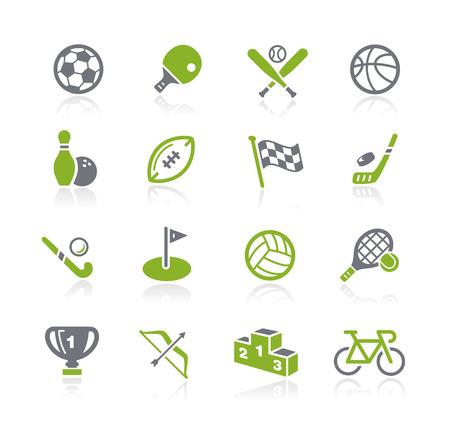 tischtennis: Sport Icons - Natura Series
