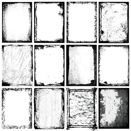 fundo grunge: Borders e Texturas Ilustra��o
