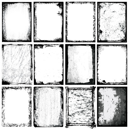 Frontières et textures Banque d'images - 23206553