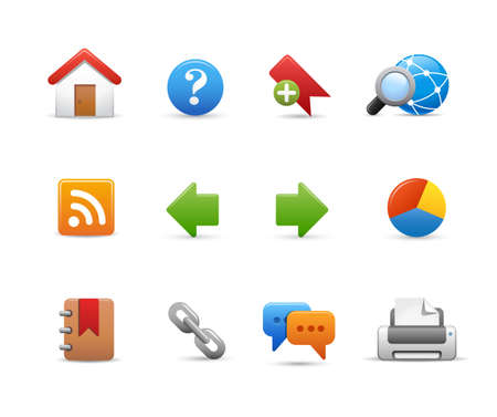 backward: Web Site Icons -- Soft Series