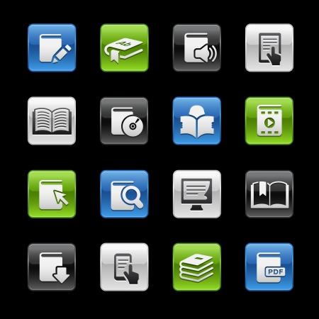 Books Icons -- Gelbox Series Stock Vector - 23655154