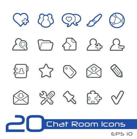 perks: Chat Room Icons -- Line Series