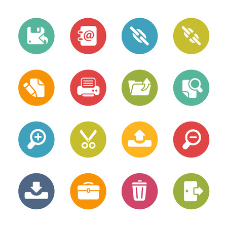 link work: Interface Icons Fresh Colors Series