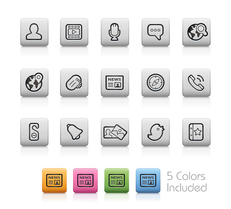 chat room: Social Icons  Illustration