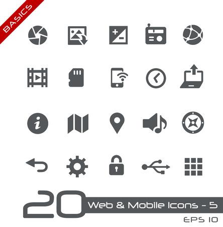 Web およびモバイル アイコン 5  イラスト・ベクター素材