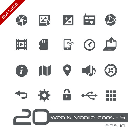 Web and Mobile Icons 5
