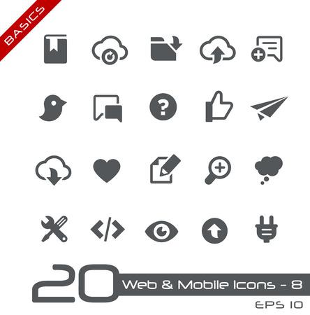 Web およびモバイルのアイコン 8