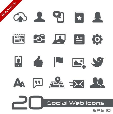 소셜 웹 아이콘