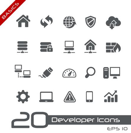 Developer Icons Banco de Imagens - 35227169