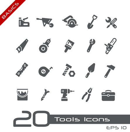 Tools Icons -- Basics