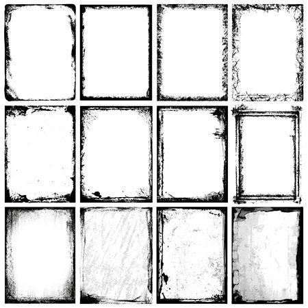 produits c�r�aliers: Cadres et Textures Illustration