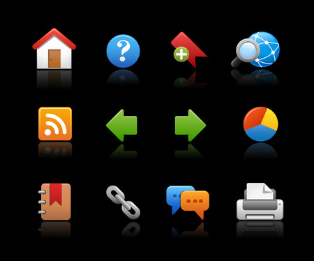 web icons: Web Site Icons