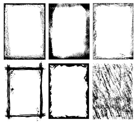broken down: Vector Frames and Textures