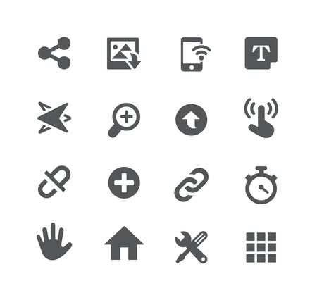 telecomunications: System Icons -- Apps Interface