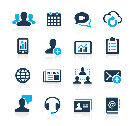 information technology icons: Business Technology Icons  Azure Series