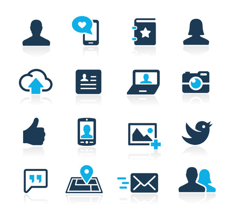 Social Icons  Azure Series