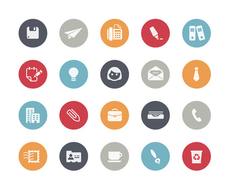 classics: Office and Business Icons  Classics Series Illustration