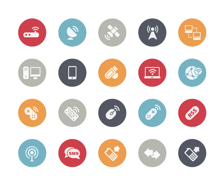 Wireless Communications Icons  Classics Series