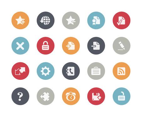 bar tool set: Web Icons Classics Series