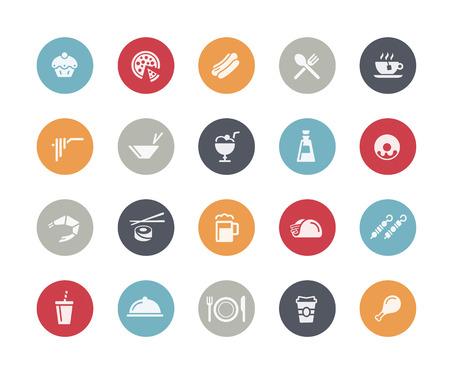 classics: Food Icon Set 2 of 2 Classics Series Illustration