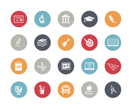 Education Icons Classics Series Reklamní fotografie - 40657502