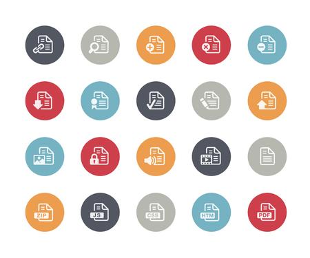 java script: Documents Icons 1 of 2 Classics Series